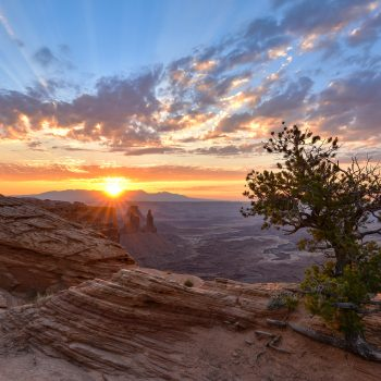 Lever de soleil sur Canyonlands