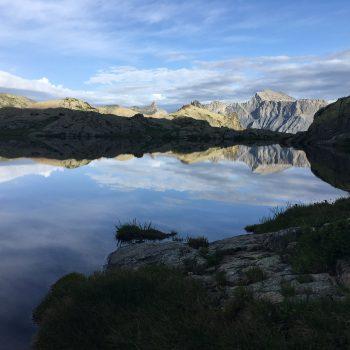 Lacs de Morgon au petit matin