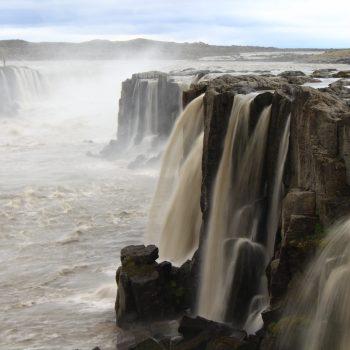 Les cascades de Selfoss