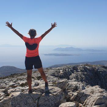 Naxos- sommet du Mont Zeus