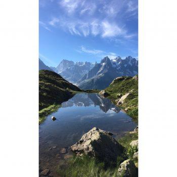 Montée au lac blanc Chamonix