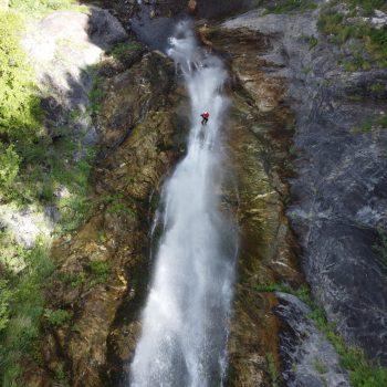 Canyoning dans les cascades de Louch