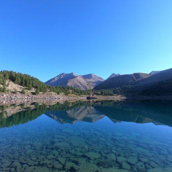 Bivouac au lac d'Allos