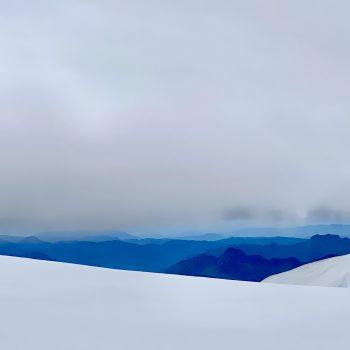 Sous l'âne du Mont-Blanc