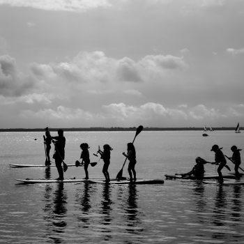 Paddle sur le Lac d'Hourtin