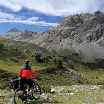 Traversée de l'arc alpin à vélo