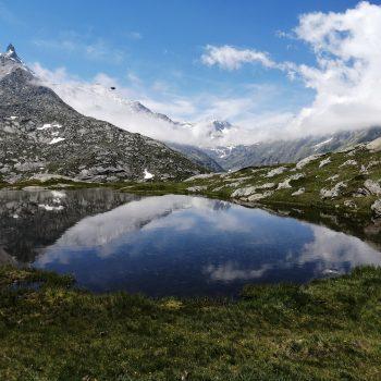 Lacs Perrin vers le col du Petit Mont Cenis