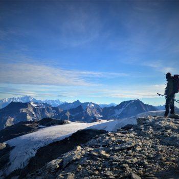 Regard sur le Mont Blanc